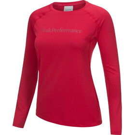 Peak Performance Gallos Co2 - T-shirt manches longues Femme - rose